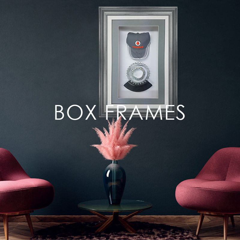 custom box frames
