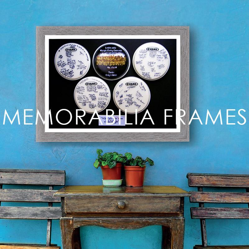 custom memorabilia frames