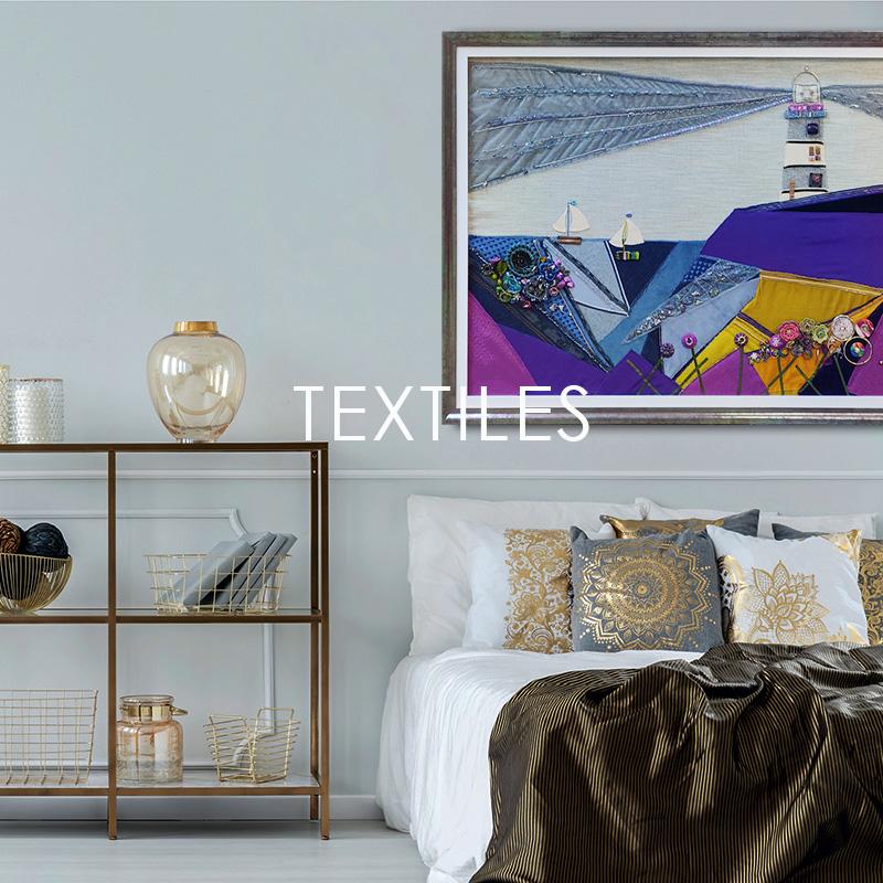 Bespoke textile framing